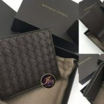 กระเป๋าเงิน BOTTEGA VENETA BI-FOLD WALLET (สีน้ำตาลเข้ม) สวยๆ ของใหม่ พร้อมส่ง^^