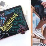 กระเป๋า Balenciaga Graffiti Bazar Pouch สวยมากๆ ของใหม่ พร้อมส่งค่ะ^^