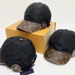 New… LV CAP OU PAS CAP IN BLACK ของใหม่ พร้อมส่ง‼️