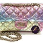 "New…Chanel Reissue 2.55 Mini 8"" Metallic Multicolour with Champange Gold Hardware ของใหม่ พร้อมส่ง‼️"