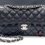 "Chanel classic 9"" black caviar SHW ของใหม่ พร้อมส่ง‼️"