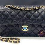 "Chanel classic 9"" black caviar GHW ของใหม่ พร้อมส่ง‼️"