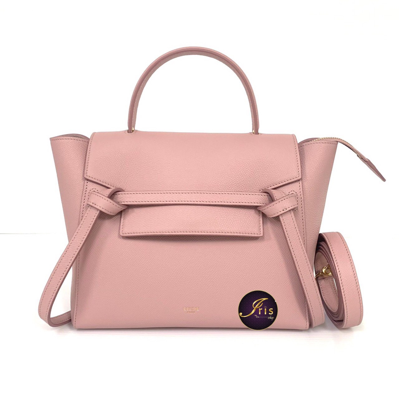 Celine Micro Belt Bag In Vintage Pink ของใหม พร อมส ง Iris Shop