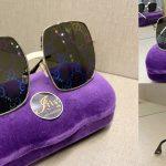 Gucci Rectangular frame Metal Sunglasses สวย ดูดีมากๆ ราคาน่ารัก ของใหม่ พร้อมส่ง‼️