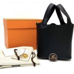 Hermès Picotin 18 Noir Clemence GHW Stamp Z ของใหม่ พร้อมส่ง‼️