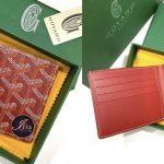 Goyard men wallet 8 card slots in red ของใหม่ พร้อมส่ง‼️