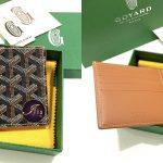 Goyard men wallet 8 card slots in brown ของใหม่ พร้อมส่ง‼️