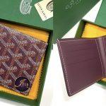 Goyard men wallet 8 card slots in purple ของใหม่ พร้อมส่ง‼️