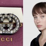 Gucci crystal interlocking G hair clip ของใหม่ พร้อมส่ง‼️