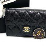 กระเป๋าใส่การ์ด Chanel classic card holder black caviar GHW ของใหม่ พร้อมส่ง‼️